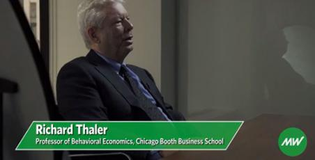 Richard Thaler interview on MarketWatch
